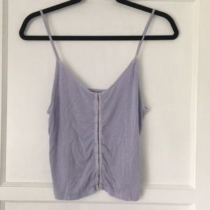 Soft & Sexy American Eagle Tank Top Lavender Med